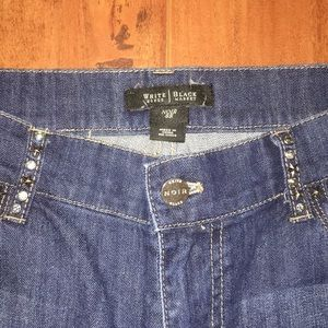 White House Black Market Boot Cut Jeans Size 8